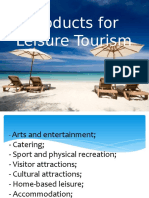 Products for Leisure Tourism.pptx