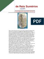 A Lista de Reis Sumérios