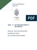 ADA-4-Actualización y recargo