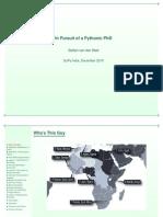 Pythonic Phd