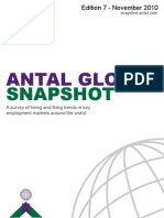 Survey of Hiring & Firing Trends in Key Markets in the World_Antal Global Snapshot