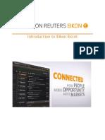 3 Introduction to Eikon Excel