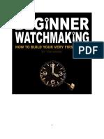 Beginner Watchmaking