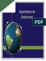 EL EXPERIMENTO DE ERASTOSTENES
