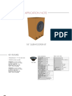18sound_18 subwoofer kit