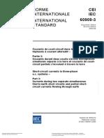 IEC 60909-3 Indice