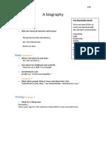 11E - A biography - Useful language