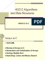 arrays in C
