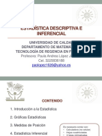 1.   Introduccion a la Estadistica 2018