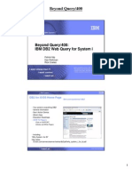DB2 Web Query Overview RI Handouts