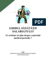 Ghid Despre Controlul Medical Periodic