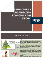 ESTRUCTURA Y ORGANIZACIÓN ECONÓMICA DEL ESTADO DIAPOSITIVAS