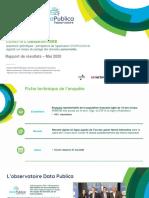 Observatoire DATA PUBLICA - Sondage HI Mai 2020 VDEF