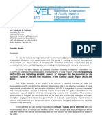 Letter to Companies