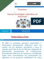 Temario- Taller Nuevas Tecnologias Aplicadas a La Educacion