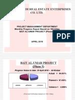 graphical progress report