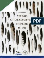 Корепова Д.А. - Атлас-определитель Перьев Птиц - 2016