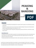 Peaking & Banding