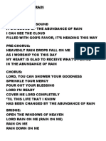 ABUNDANCE OF RAIN.doc