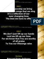 Father Spirit Jesus - Casting Crowns.pptx