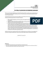 SDI- Use of Composite Steel Floor Deck in Parking Garages
