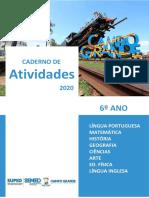 6º Ano_caderno-De-Atividades_todas as Disciplinas