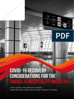 COVID-19 Recovery Considerations for the Travel & Hospitality Industry