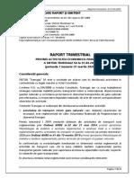 Raport Trimestial Transgaz 2020