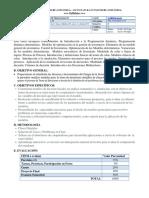 Inv Operaciones II Syllabus
