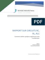 List des Materials pour RLC