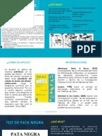 FABULAS DE DUSS Y TEST DE PATA NEGRA