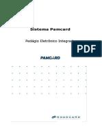 Sistema Pamcard - Especificação Integração - TAG - Viagem e CIOT