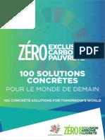 Convergences   100 Solutions pour le monde de demain