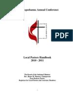 Local Pastors Handbook Revised July 2010