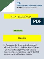 AULA SLIDE (ALTA FREQUÊNCIA)