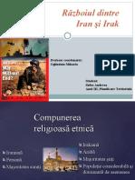 Geografie politică- Războiul dintre Iran si Irak