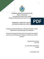 PROPUESTA DE EDUCACION COMPARADA