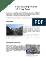 Diseño estructural presa de Chirkey Dam