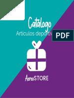 AEROSTORE-CATÁLOGO ARTÍCULOS DEPORTIVOS