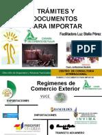 TRÁMITES Y DOCUMENTOS  IMPORTAR PARA CAMARA DE COMERCIO TULUA