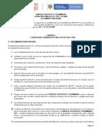 DOCUMENTO ADICIONAL PROYECTO PLIEGO DE CONDICIONES LP 01 DE 2020 VDEF