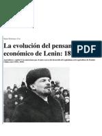 La evolución del pensamiento económico de Lenin, 1896-1916