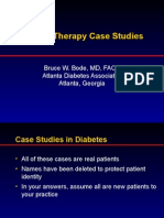 Insulin Case Studies AACE 5-20-05