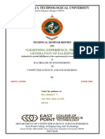ADITYA SINHA 1EP16CS003 Technical seminar report