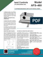 AFS-460 Data Sheet