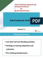 1 1 Environment Setting