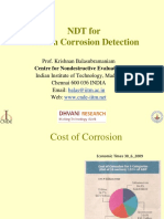 NDT for Corrosion Inspection