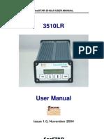 3510LR User Manual