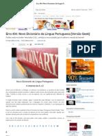 Erro 404_ Novo Dicionário da Língua Portuguesa [Versão Geek]
