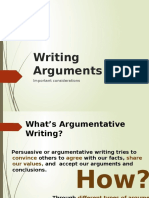 Types of Arguments